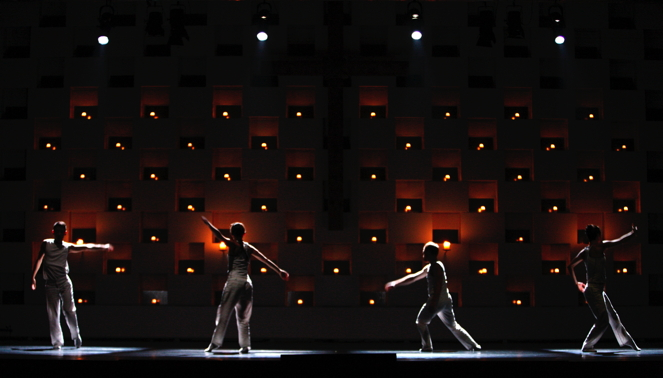 Kunst der Tanz-Fuge