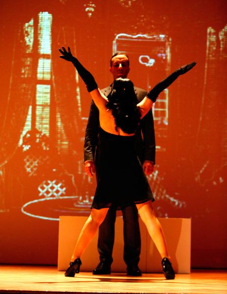Walter Gropius mit Prostituierter
