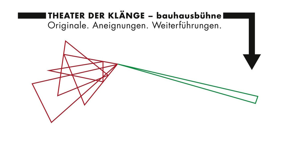 THEATER DER KLÄNGE bauhausbühne: Originale. Aneignungen. Weiterführungen.