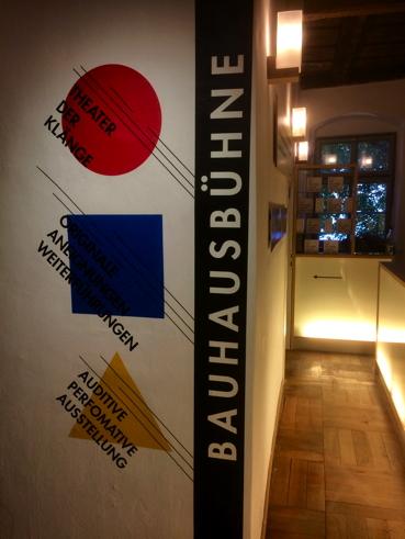 Bauhaus-Ausstellungseröffnung im Theatermuseum Düsseldorf